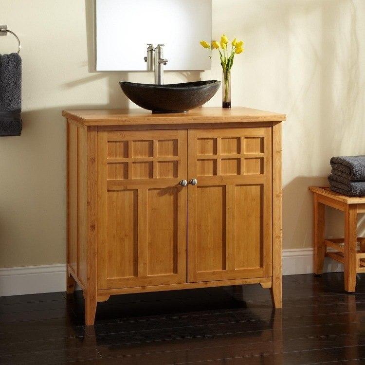 madera real suelo estantes anillas toallas