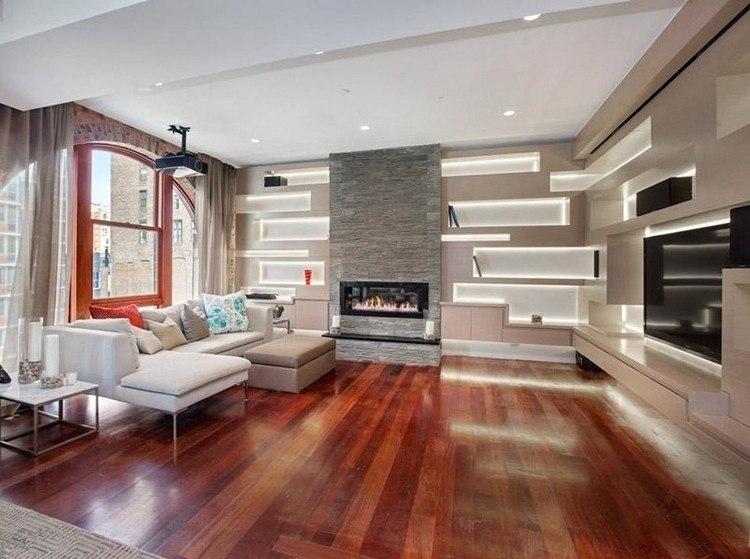 madera suelo intenso color ventanas