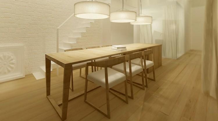 madera suelos casa detalles cocina ladrillos