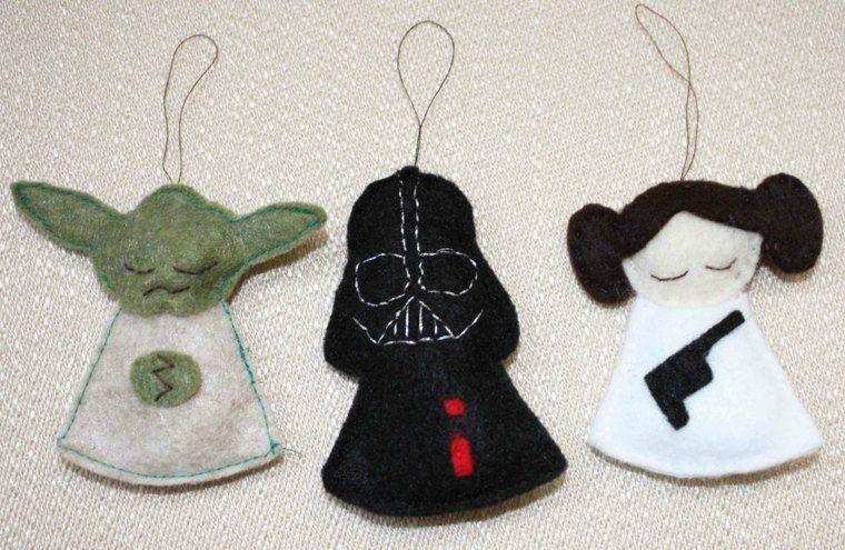 manualidades de navidad decoracion colgar arbol ideas