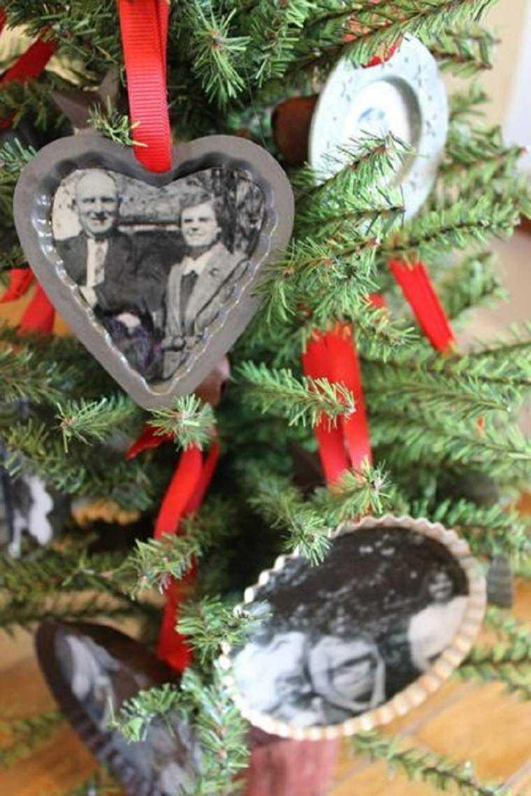 manualidades de navidad decoracion fotos antiguas ideas