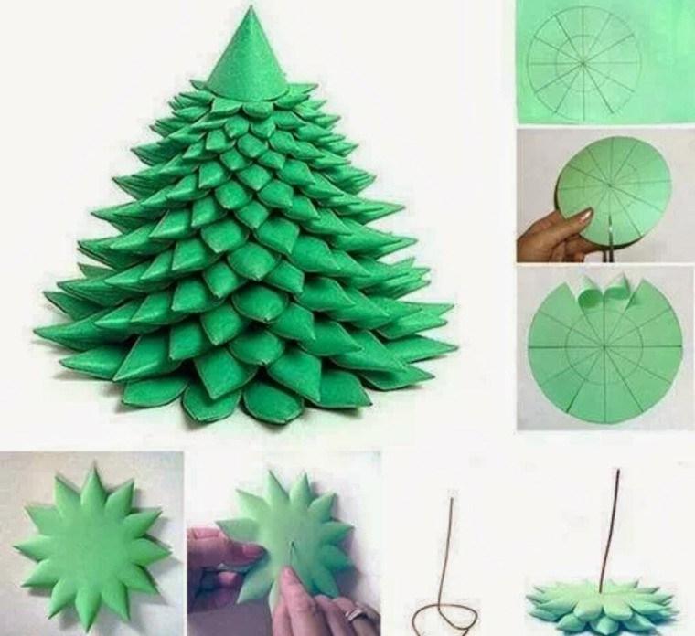 Manualidades de navidad decoracion f cil y atractiva - Decoracion navidad papel ...