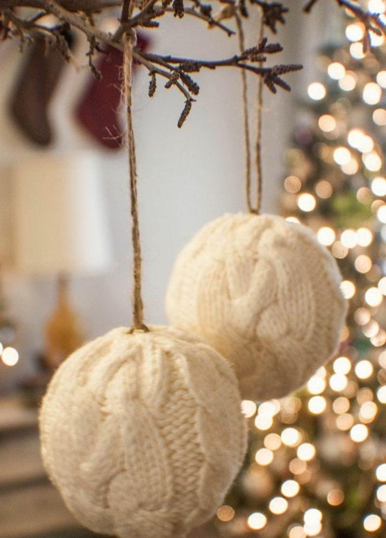 Manualidades de navidad decoracion f cil y atractiva - Bolas de navidad ...