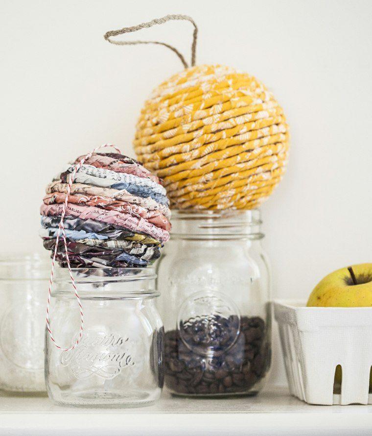 manualidades navidad decoracion bolas papel ideas