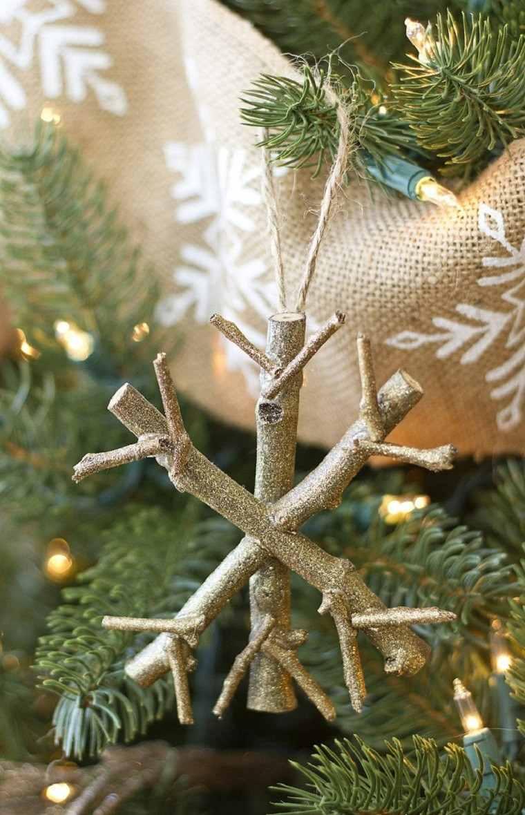 c5639509708 manualidades navidad decoracion copo colgar arbol ideas