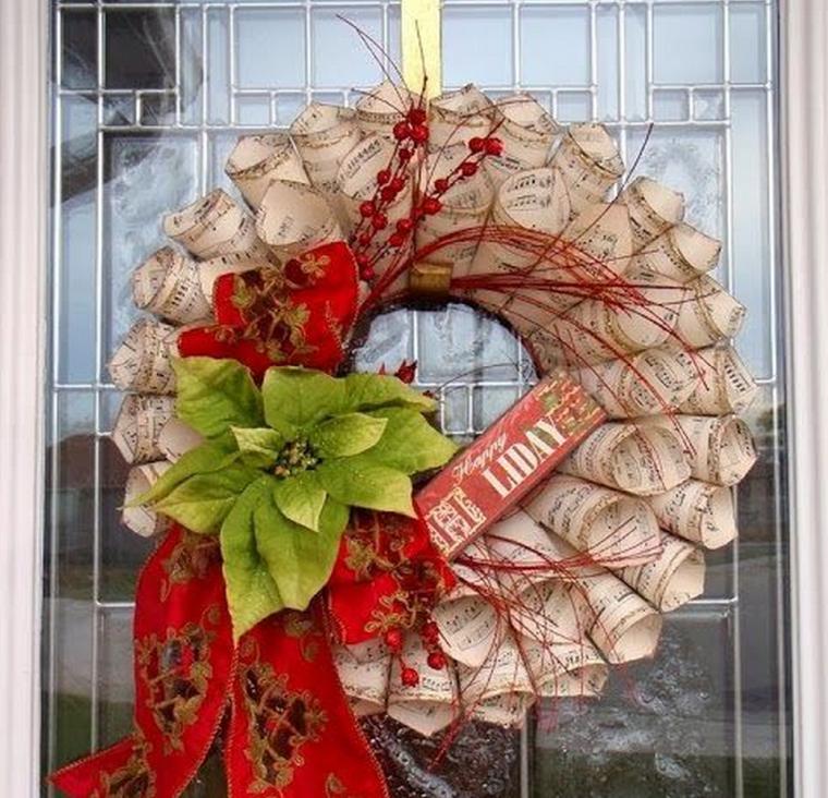 manualidades navidad decoracion estrella navidad ideas