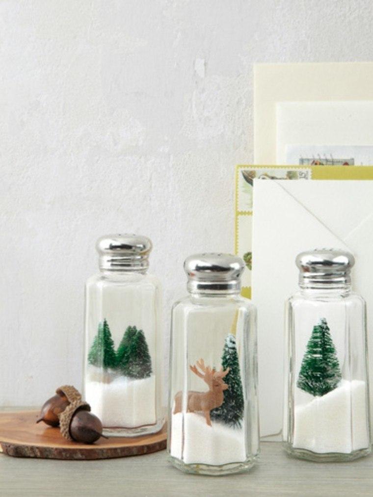 manualidades navidad decoracion salero navideno ideas