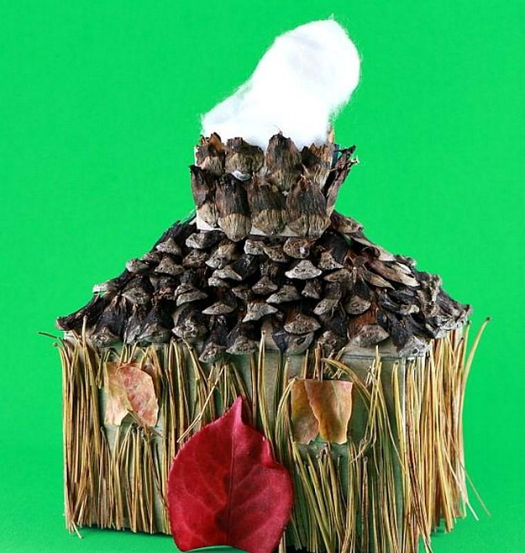 manualidades niños artesania casa natural ideas