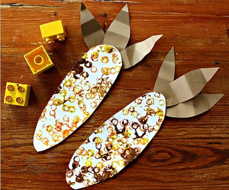 manualidades niños artesania maiz ideas