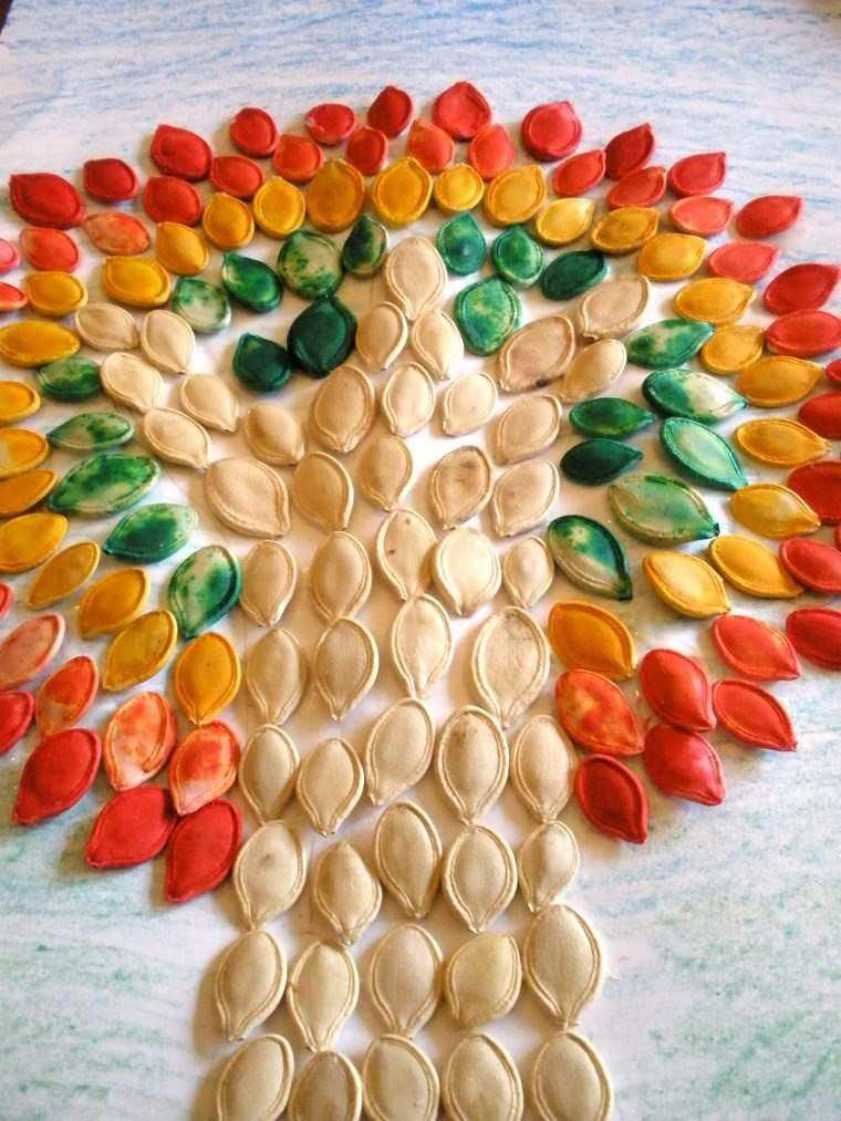 manualidades niños artesania pipas calabaza ideas