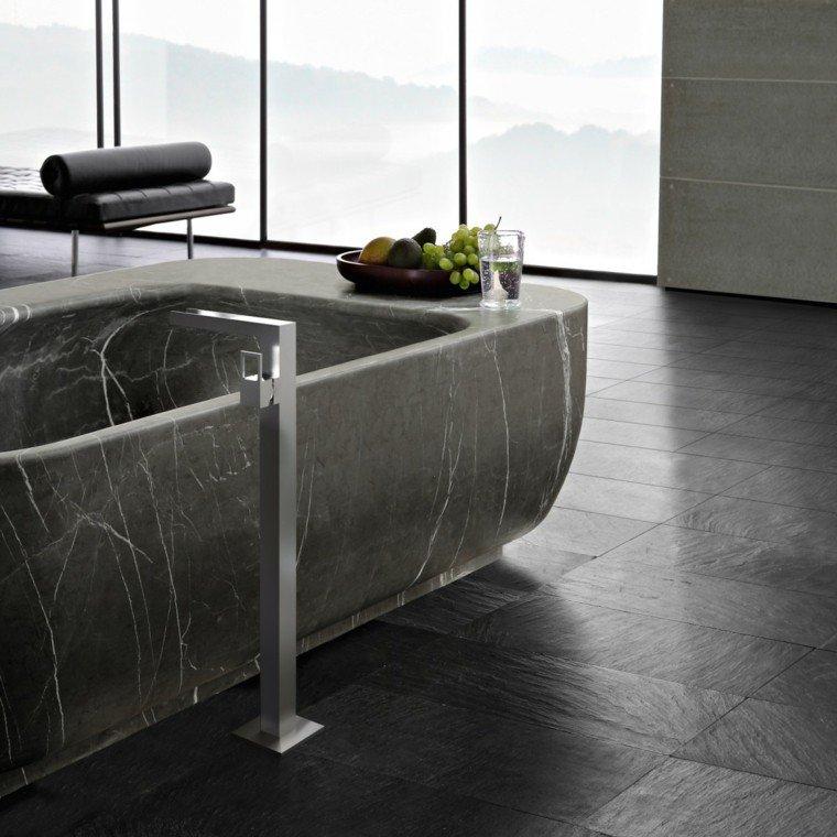 marmol baño detalles estilos frutas