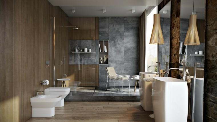 marmol madera diseños blanco lamparas