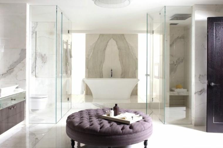 marmol sala baño cojines estetica