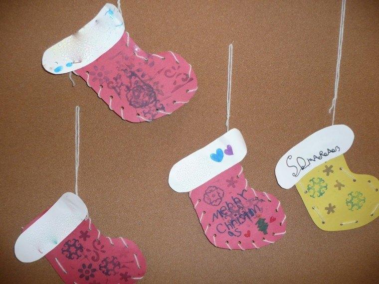 medias calcetines detalles diseño cuerdas