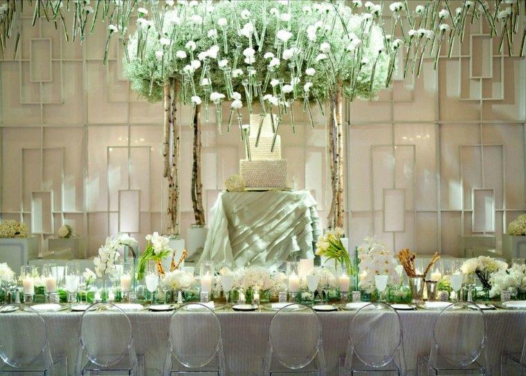 mesa boda origional decoración