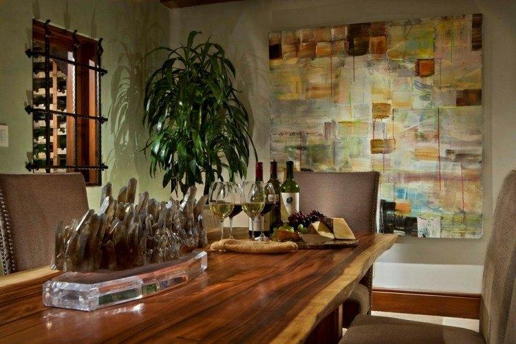 muebles de comedor madera basta natiral