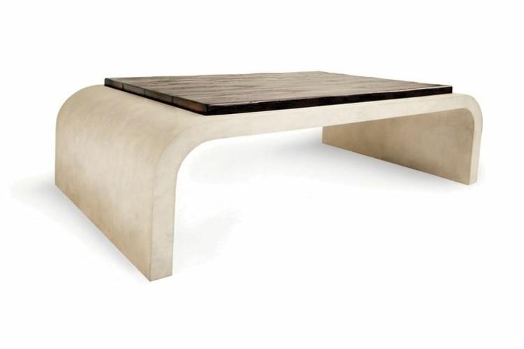 mesa estilo variantes arqueada madera