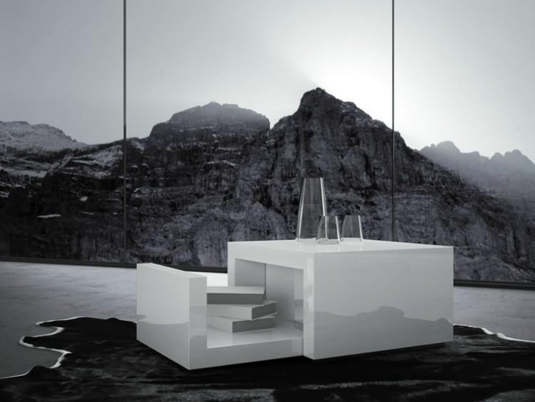 mesa extensible diseño moderno