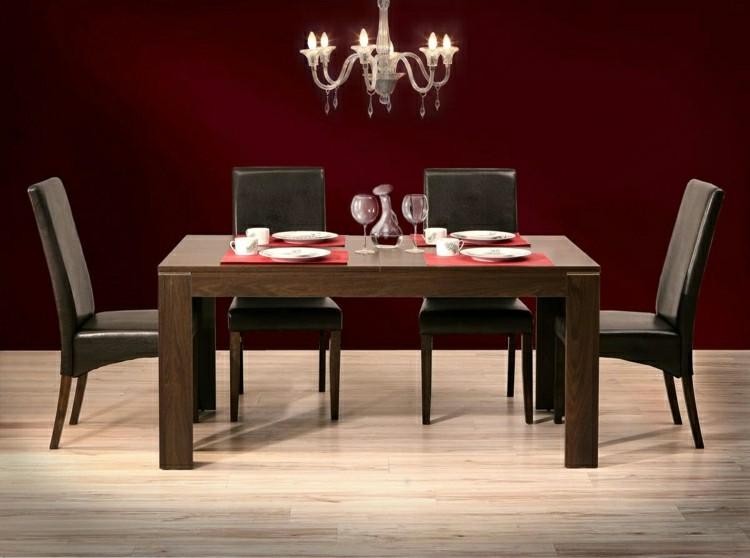 mesa comedor madera estilo moderno