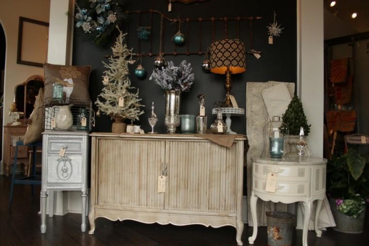 mesa mueble estilo vintage deco