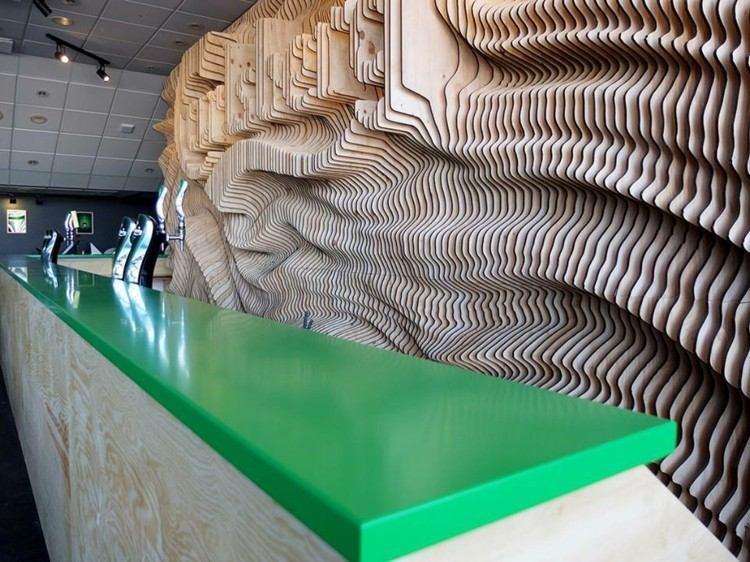 mesas estilo salon detalles numeros led estilo