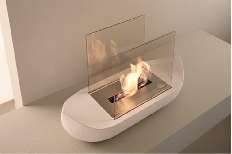mesas interiores casas blanco minimalista