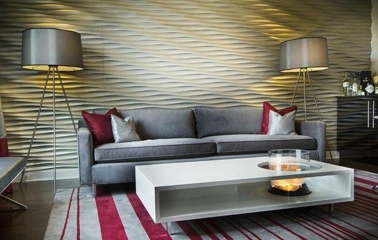 mesas interiores casas otoño lamparas