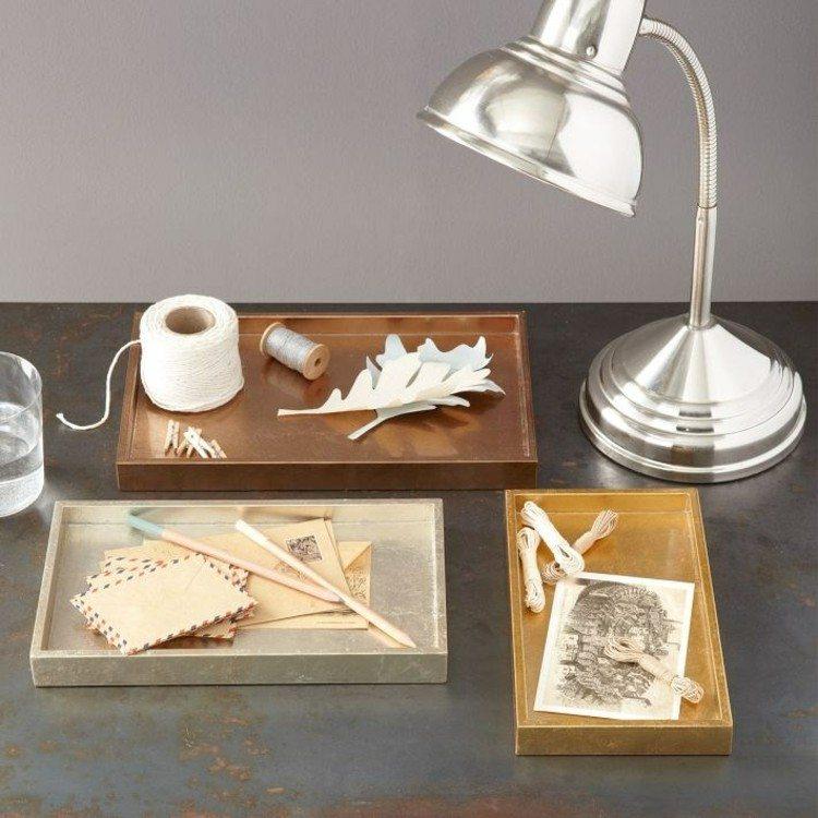 metales texturas llamativas estilo lamparas
