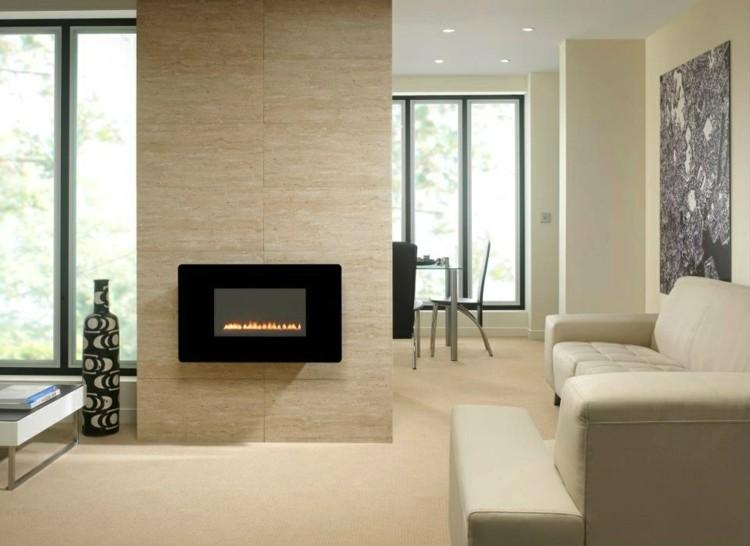 minimalista interiores casas otoño jarrones