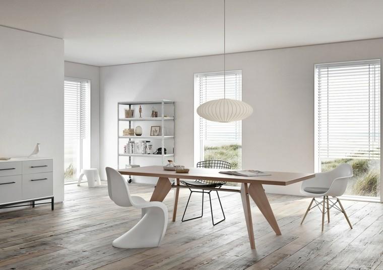 moderno cojines colorido blanco madera