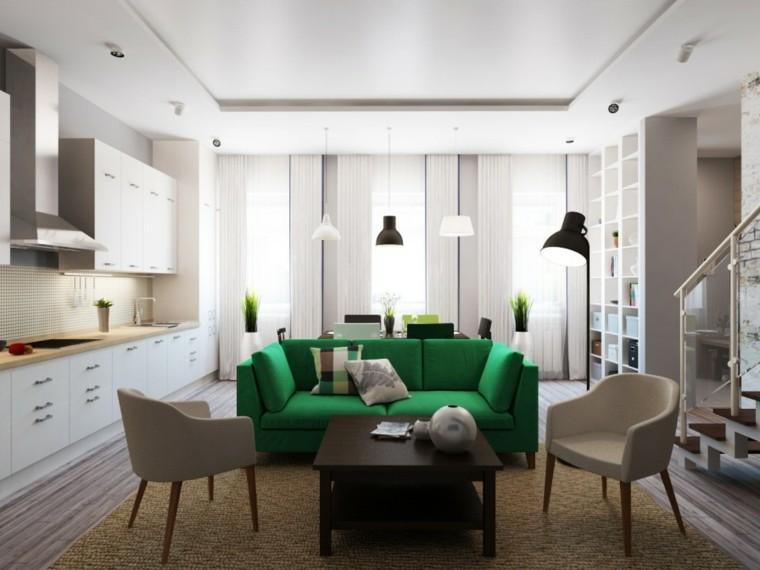 moderno estilo diseño interiores alfombras