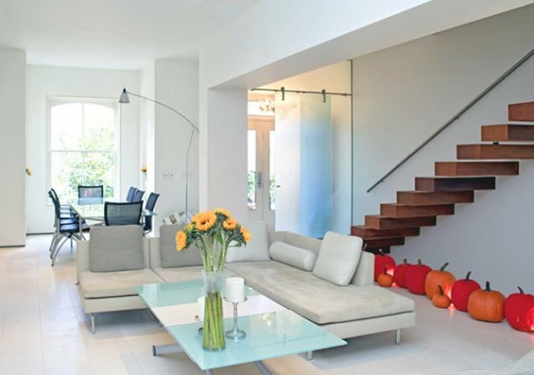 moderno sillas decoracion mesa escaleras