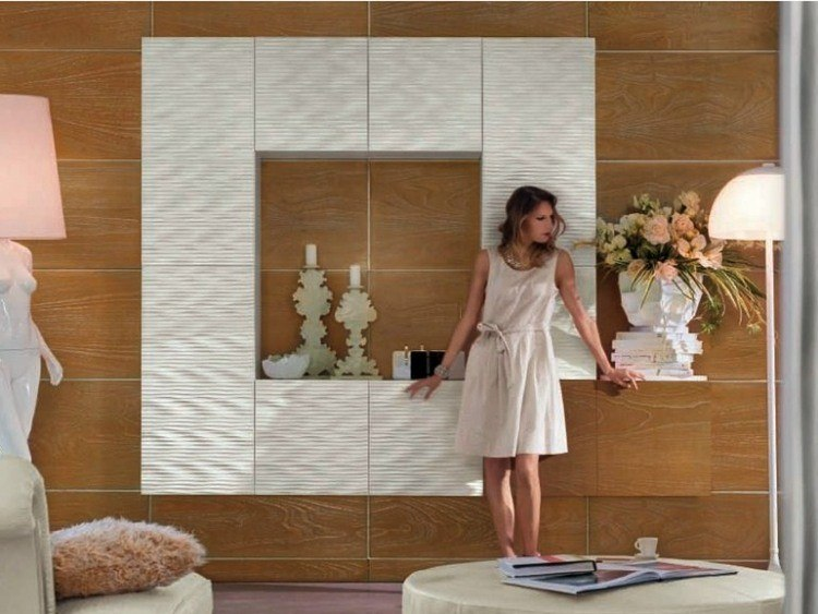 modulo salon color blanco