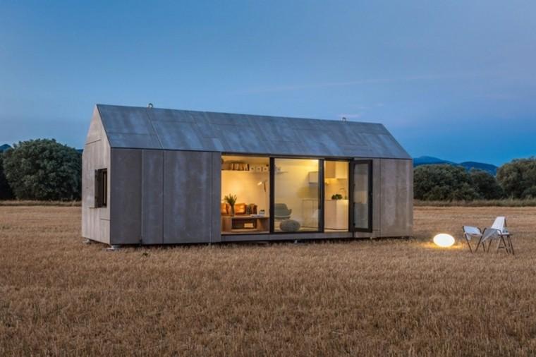 modulo casa diseño peuqeña campo