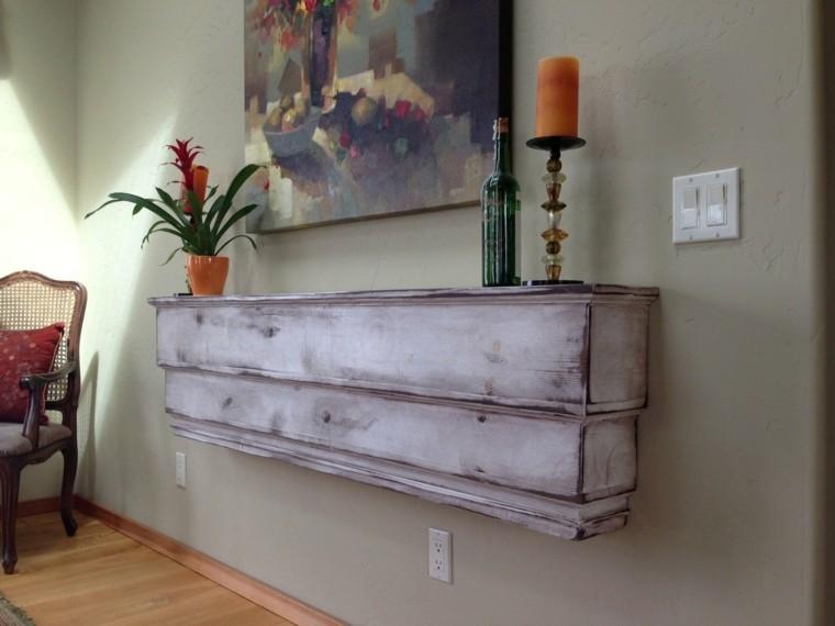 mueble recibidor envejecido estilo vintage