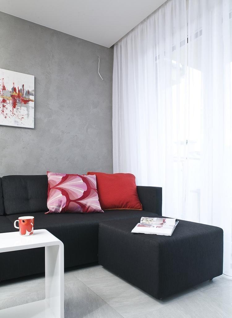 mueble sitios escaleras frutas cortinas
