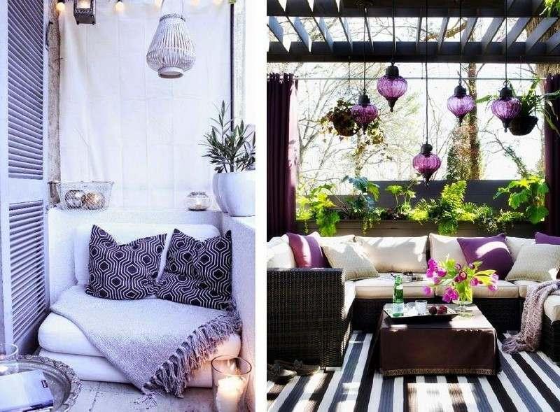 muebles balcon terraza bonitos moderna pegola ideas