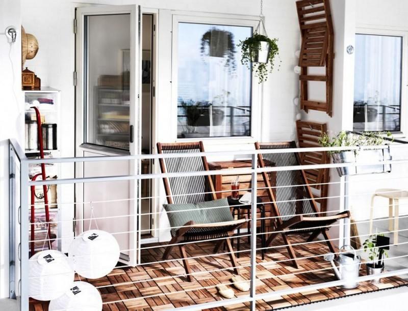 muebles bonitos para el balc n o la terraza moderna. Black Bedroom Furniture Sets. Home Design Ideas