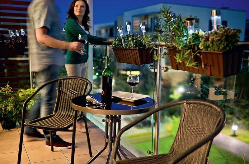 muebles bonitos balcon terraza moderna rattan negro ideas