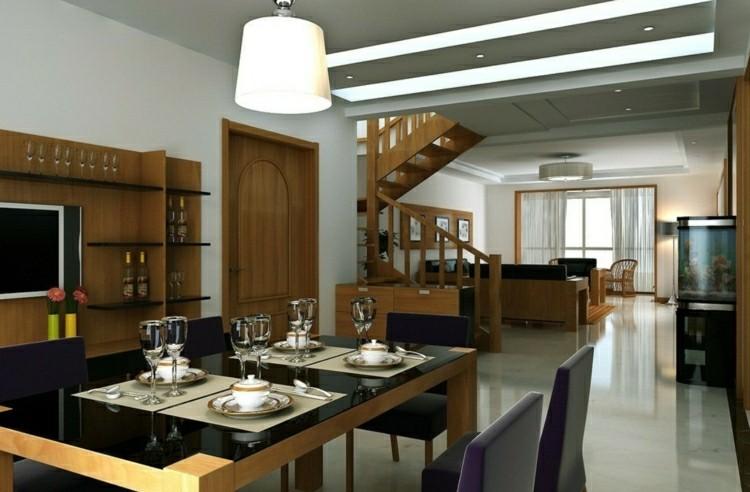 muebles comedor estilo moderno madera
