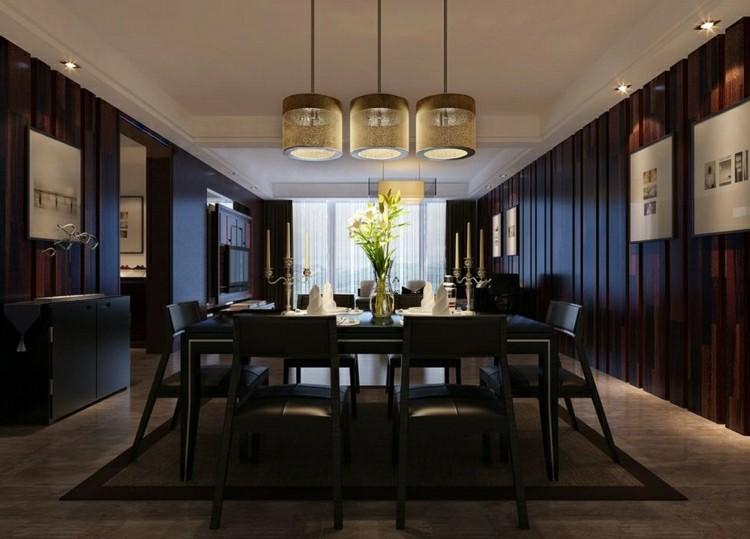 muebles de color negro