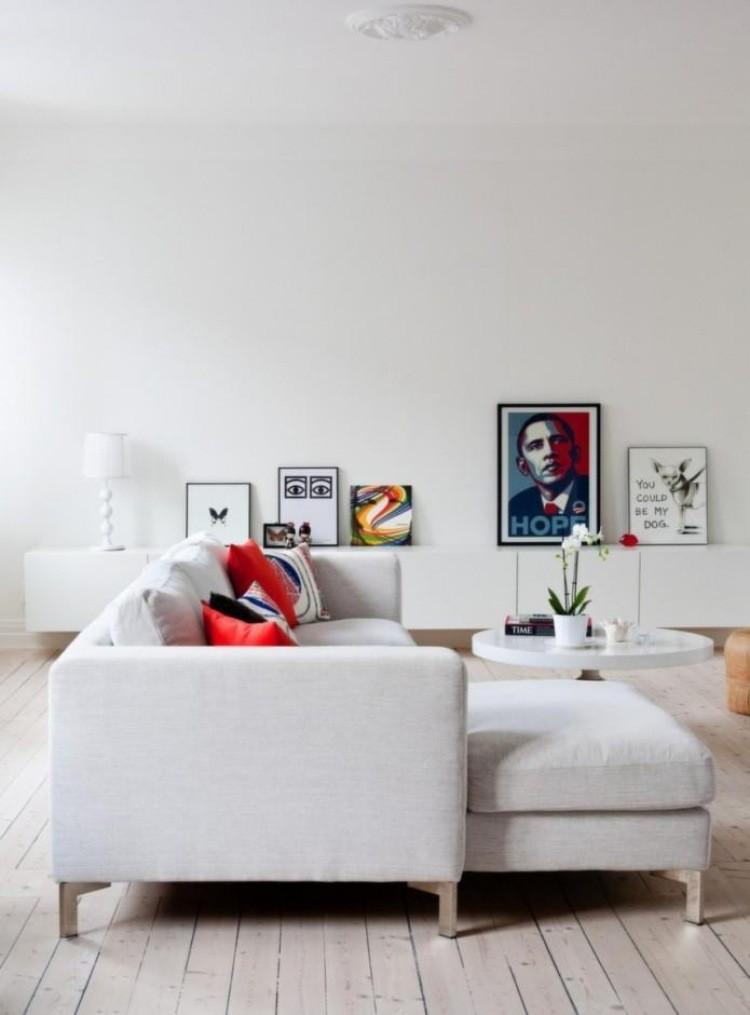 muebles de salon blanco sofa ideas