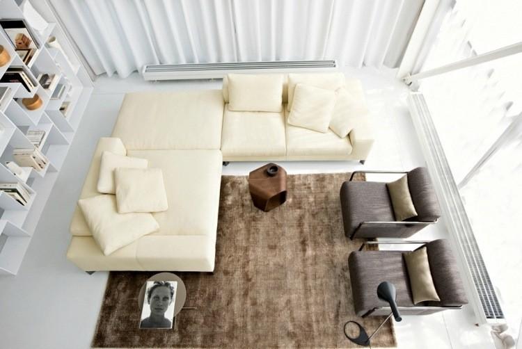 muebles de salon blanco sofa grande ideas