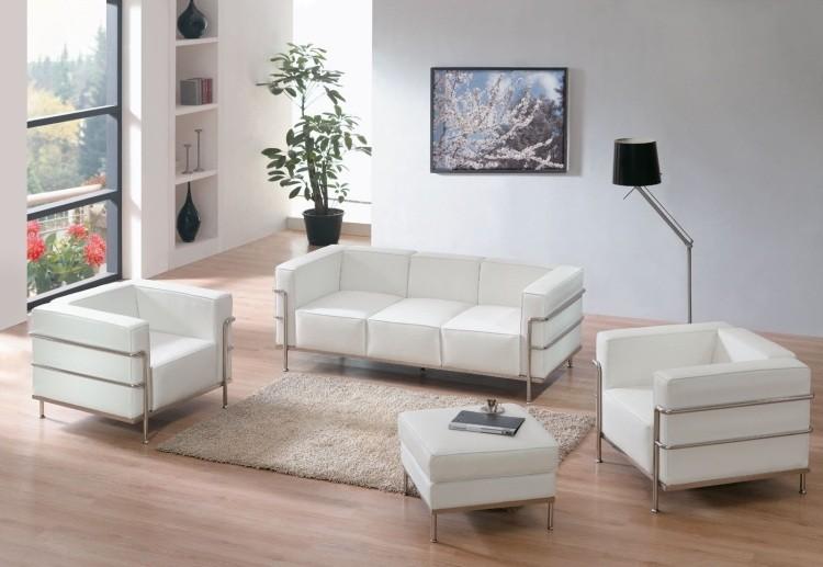 muebles de salon blanco sofa sillon ideas