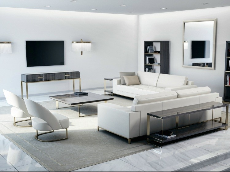 Sofas En Blanco. Simple Tufted Sofa Sectional Sleeper Sectional With ...
