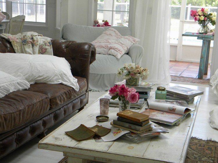 Muebles De Sal N Estilo Shabby Chic Y Vintage Muy Bonitos