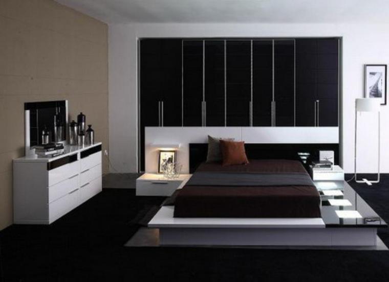 Muebles dormitorio de estilo moderno - 25 ideas