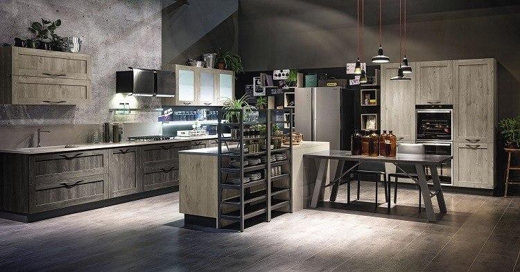 Decoracion vintage para cocinas salones y dormitorios - Muebles de cocina estilo retro ...