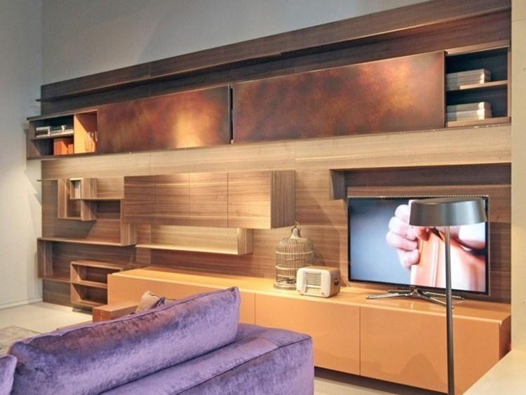 Muebles modernos para salas de estar dise os con estilo for Modulos muebles salon
