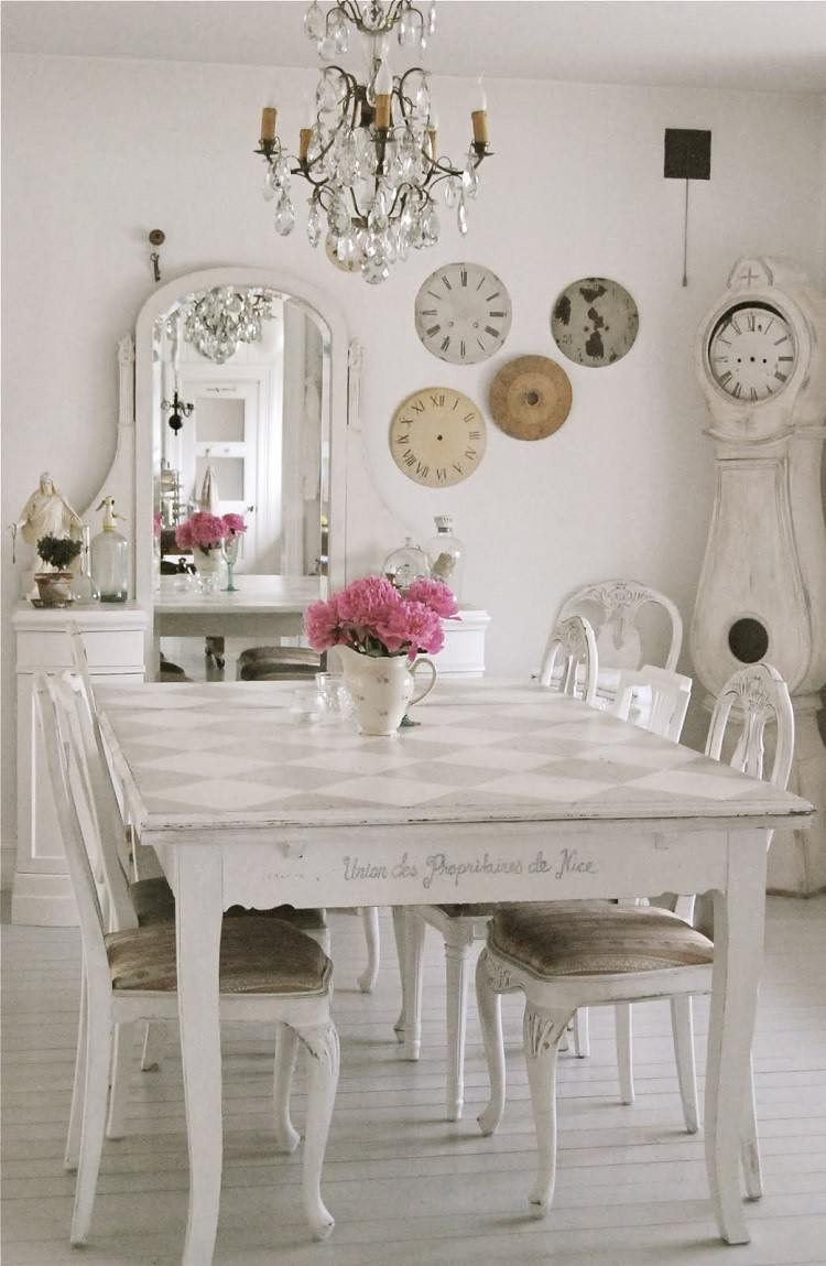 Muebles De Sal N Estilo Shabby Chic Y Vintage Muy Bonitos  # Muebles Toque Antiguo